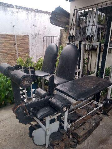Vendo equipamento para academia de musculação