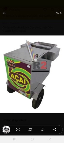 Vendo carrinho pra açaí , sorvete, ou salada de frutas  - Foto 2