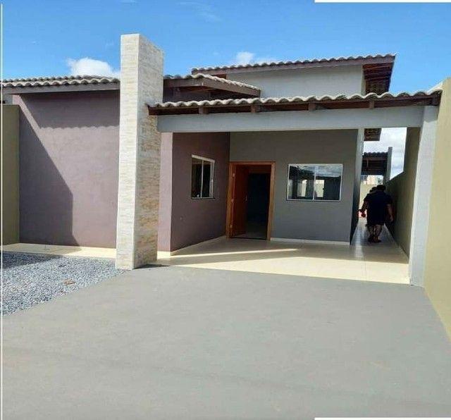 Casa nova com suite e porcelanado e churrasqueira  canelas vg - Foto 3