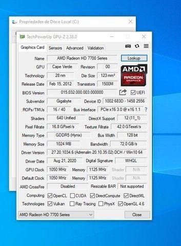 Computador Core I5 terceira Geração, ssd 240 gb + Placa de video 1gb ddr5 - Foto 4
