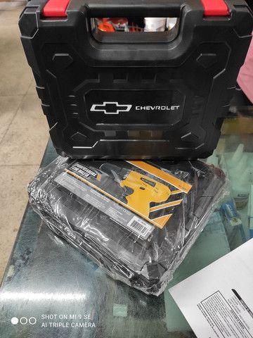 Parafusadeira a bateria Chevrolet 12v - Foto 6
