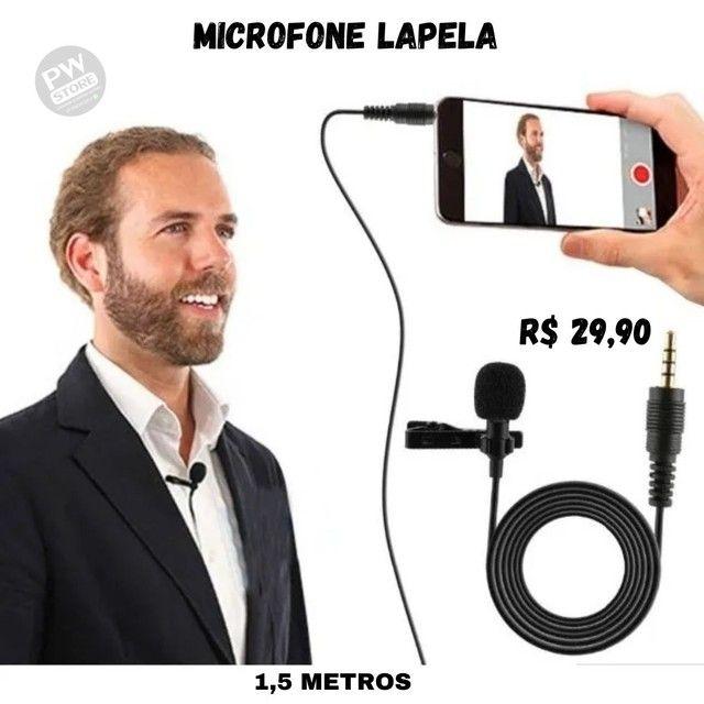 Microfone Lapela - Loja PW STORE