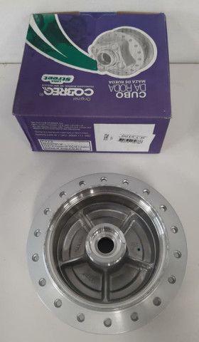 Cubo roda dianteira titan 150 04/13-freio tambor marca cobreq - Foto 3