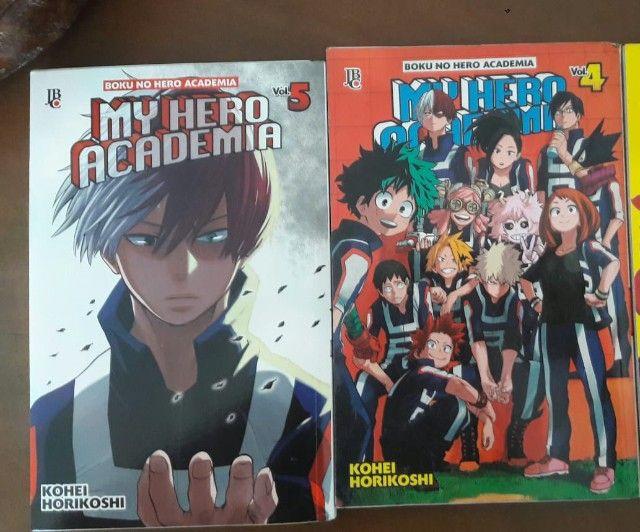 Mangá My Hero Academia Volume 4 e 5 (avulso ou junto)