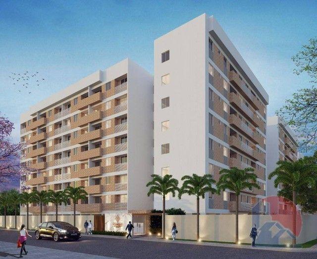 Apartamento à venda, 57 m² por R$ 221.900,00 - Bancários - João Pessoa/PB - Foto 3