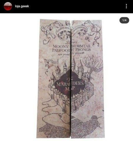 Mapa do maroto + tickets