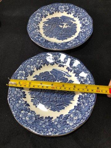 Par de pratos inglês  - Foto 5