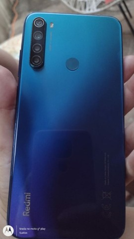 Note 8 xiaomi ( na cor : Azul) - Foto 2