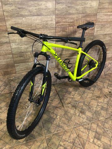 Bike Specialized RockHopper 2021 Aro29,Q/17, G/Alívio/Altus, K7de9v,C/1Coroa - Foto 2