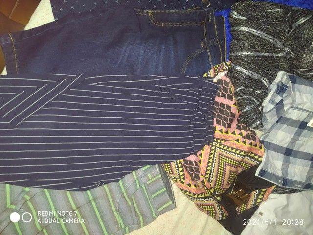 Vendo todas essas roupas sendo q  tem novo e usado - Foto 2