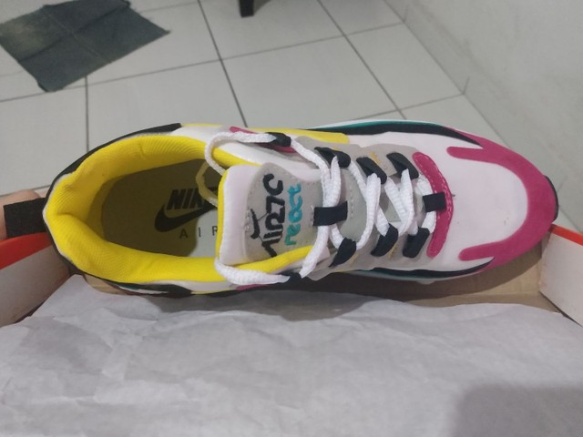 Tênis Nike Air Max 270 React - Foto 5