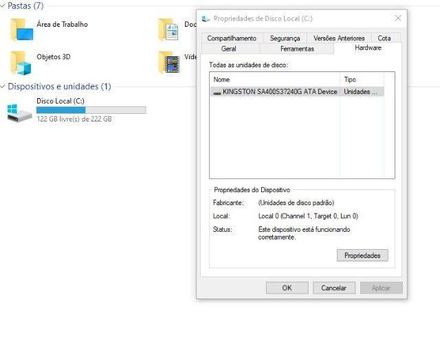 Computador Core I5 terceira Geração, ssd 240 gb + Placa de video 1gb ddr5 - Foto 2