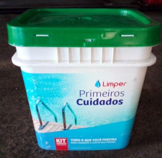 Kit limpar piscina