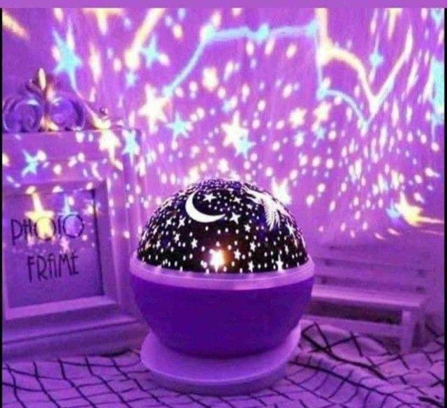 Abajur Luminária Céu Estrelado - Foto 3