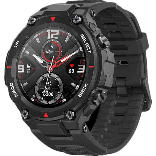 Relógio Amazfit T-Rex A1919 - Rock Black-12 vezes sem juros