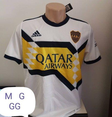 Camisas de time 1 linha nacional disponível só tamanho G - Foto 2