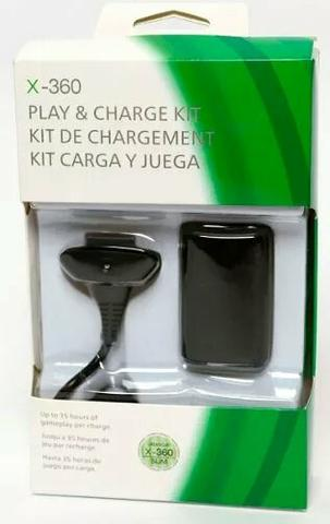 Kit Play & Charge Xbox 360