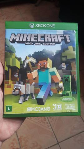 Capa do Minecraft de Xbox One
