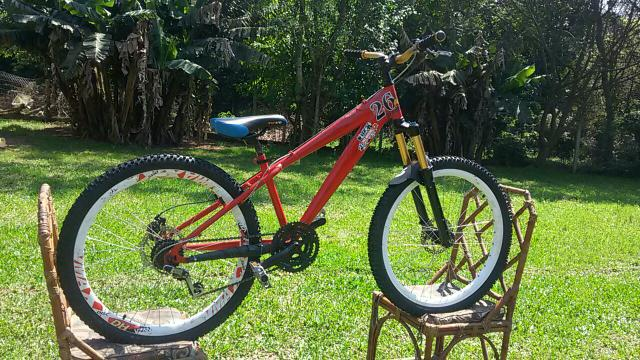 Vendo bike nova elleven instinct