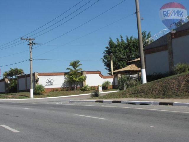 Terreno residencial à venda, condomínio sol vinhedo village, vinhedo - te0832. - Foto 13