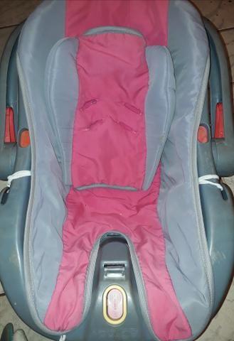Bebê conforto com alça giratoria