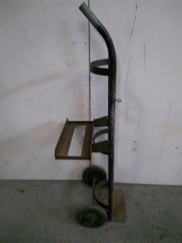 Carrinho Porta Cilindro Em Aço - 2187 - Foto 3