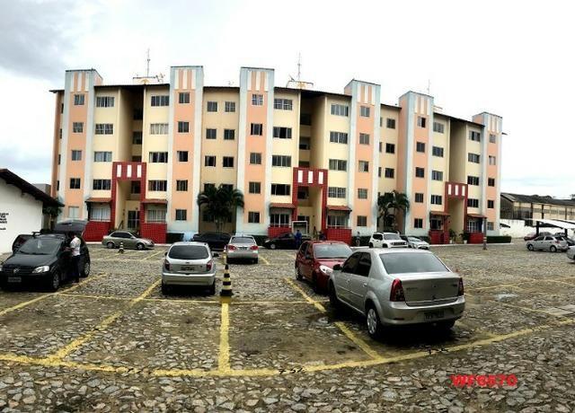AP1052 Aimará, apartamento com 2 quartos, 1 vaga, condomínio no Cambeba, campo de futebol - Foto 10
