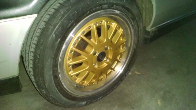 Roda 15x6 4x100 (Dourada)