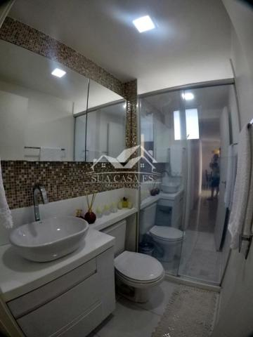 Apartamento à venda com 3 dormitórios em Colina de laranjeiras, Serra cod:AP184LE - Foto 9