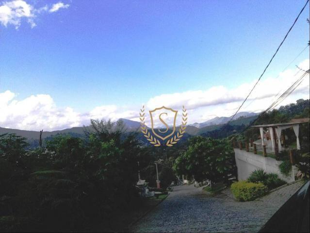 Terreno à venda, 600 m² por r$ 220.000 - parque do imbui - teresópolis/rj - Foto 11