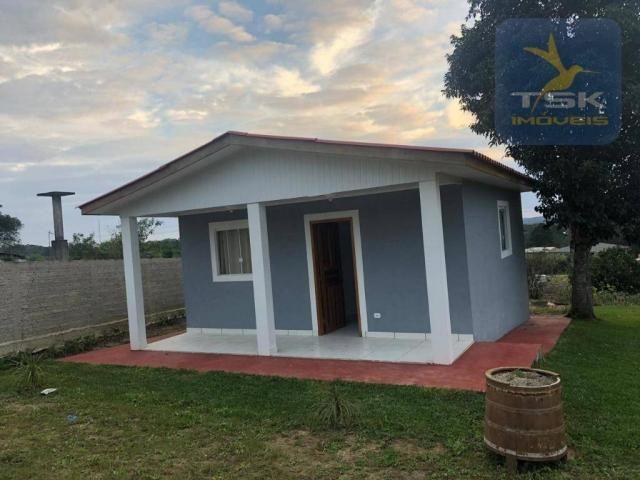 Chácara 760 m² por r$ 160.000 - areia branca - mandirituba/pr
