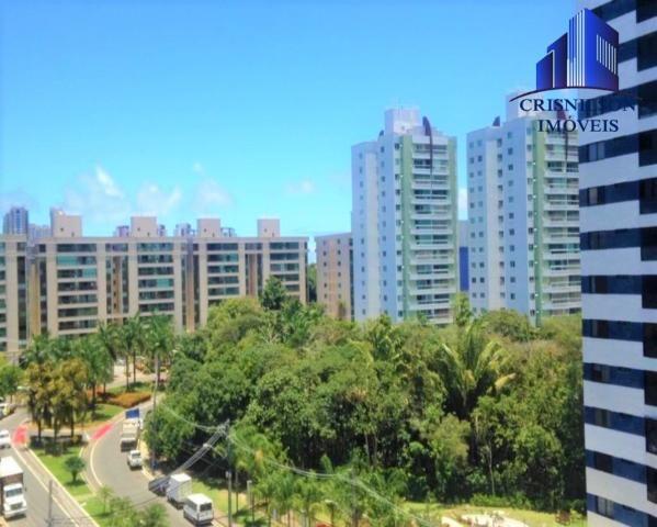 Apartamento à venda prime ville, alphaville i salvador, nascente, 2/4 sendo 1 suíte, 2 gar - Foto 4