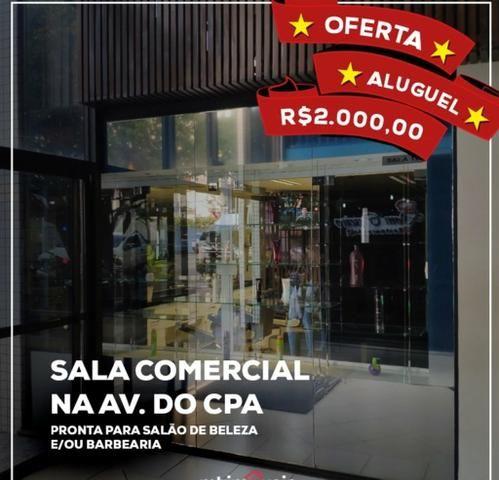 Sala comercial no coração da Av do CPA - Foto 4