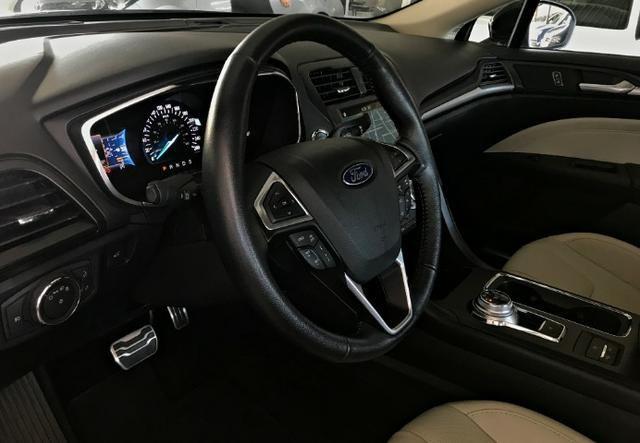 Ford Fusion Titanium Awd C/ Teto Solar 2.0. Preto 2016/2017 - Foto 7
