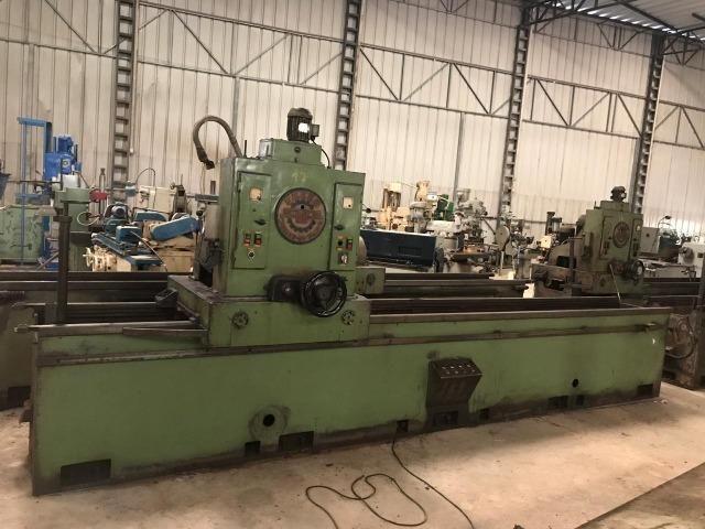 Afiador de facas industrial para máquinas e picadores Fezer 3450 x 220 mm