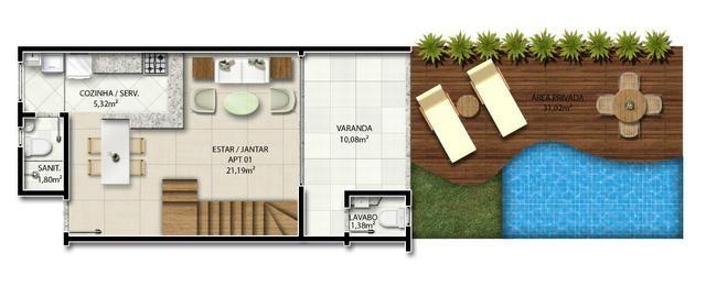 3 quartos em imbassai - Foto 11