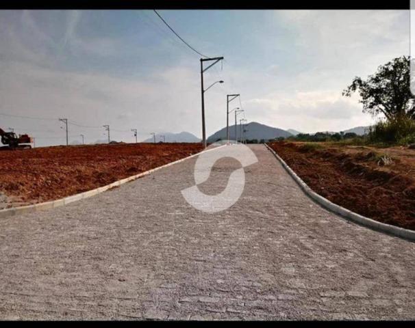 Terreno à venda, 240 m² por R$ 99.000,00 - Ubatiba - Maricá/RJ - Foto 3