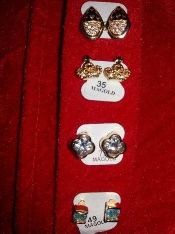 Vendo semi jóias folheadas ouro 18k ACEITO CARTÃO - Foto 4