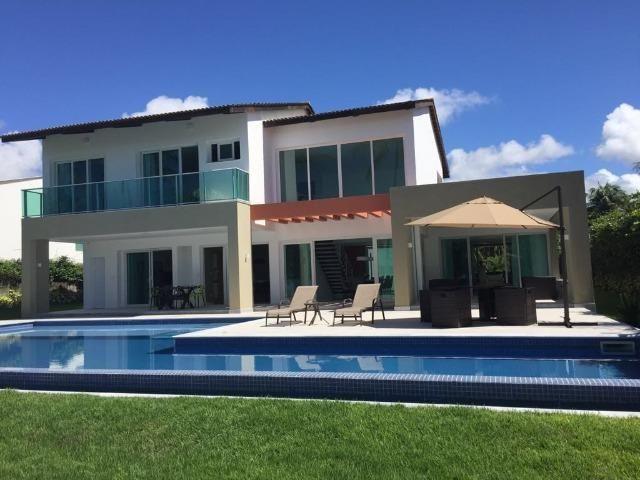 Luxuosa casa duplex com decoração e mobília completa conheça o projeto na integra paiva - Foto 2