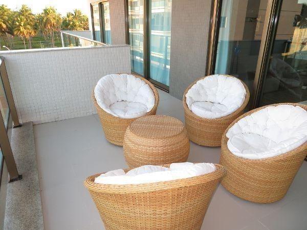 Apartamento á venda condomínio vila dos corais com mobília completa reserva do paiva