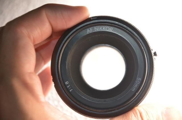 Lente Nikon 50 Mm F/18 Af Nikkor Lens