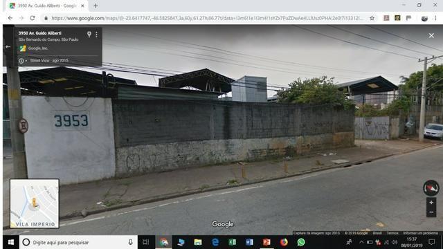 Terreno em São Caetano 29x42