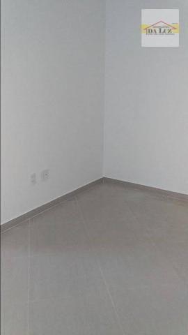 Apartamento com 3 dormitórios à venda, 90 m² por r$ 420.000 - parque das nações - santo an - Foto 7