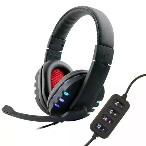 Fone Ouvido Gamer 7.1 Usb Headphone Microfone Ps3 Ps4 Pc Not
