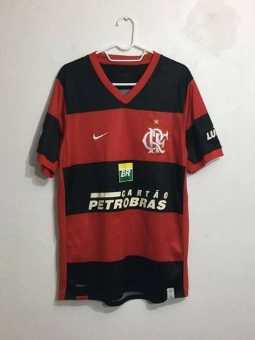 Camisa Flamengo 2007-2008 a14e85e3e9b57