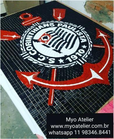 Mosaico Time São Paulo, mosaico piso, mosaico piscina, desenho pescina - Foto 4
