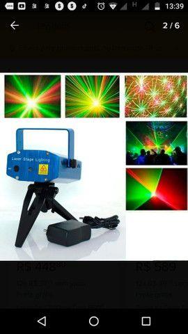 Kit iluminação festa DJ total diversão - Foto 5
