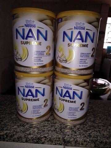 Vendo latas de leite NAN.
