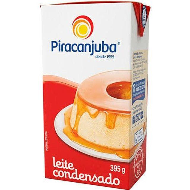 Leite condensado Piracanjuba