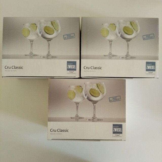 Conjunto de taças de Gin de cristal - Foto 2